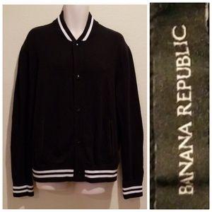 Banana Republic Jersey Jacket